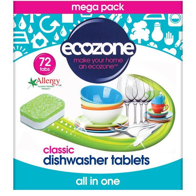 Ecozone tablety do myčky Classic 72ks Image