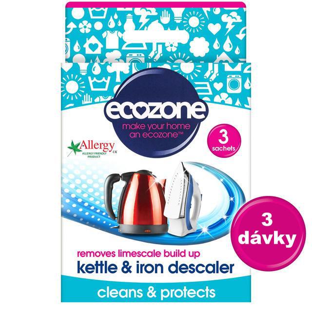 Ecozone na čištění varných konvic a žehliček Image