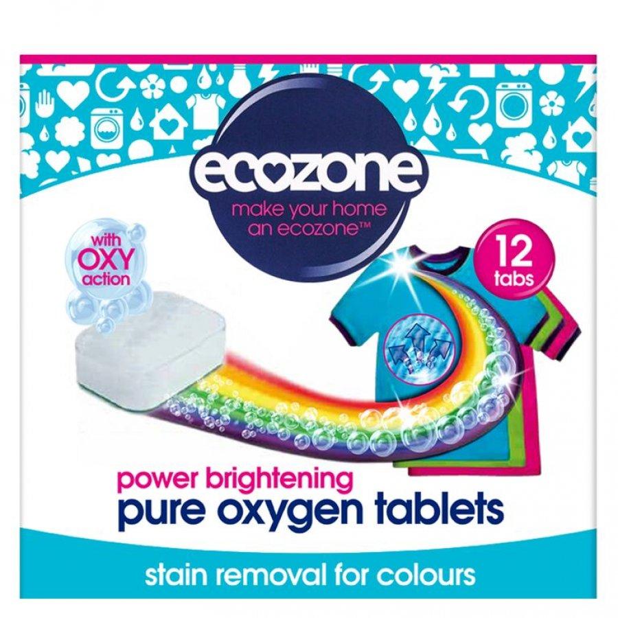 Ecozone Oxy tablety na barevné prádlo Image